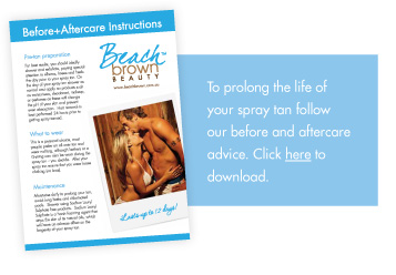 download our before and aftercare spray tanning instructions